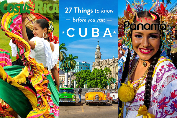 PANAMA, COSTA RICA AND CUBA - Emerging destinations are hot!