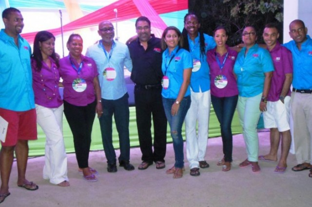 Jamaica tourism minister drives visitors via music festival