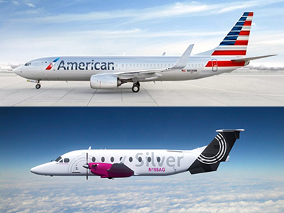 Silver Airways, American Airlines Begin Selling Tickets to ...