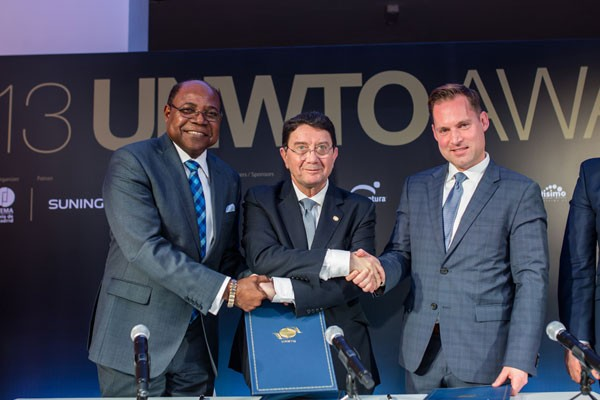 Minister Bartlett Signs Agreement for Jamaica to host UNWTO Conference in November